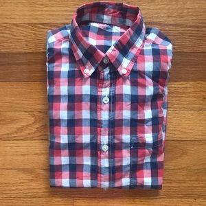 J Crew men's lightweight l/s button-down shirt